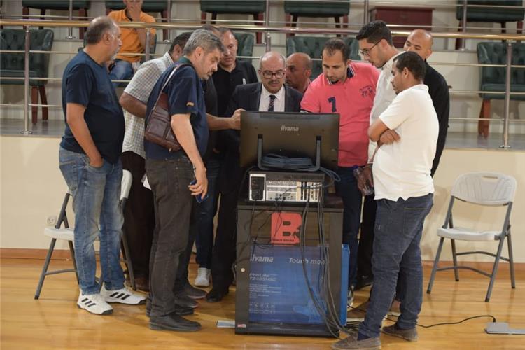 تطبيق تقنية الفيديو في مباريات كرة السلة