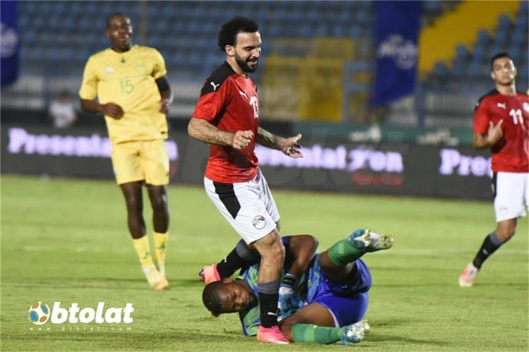 كريم العراقي لاعب منتخب مصر الاولمبي