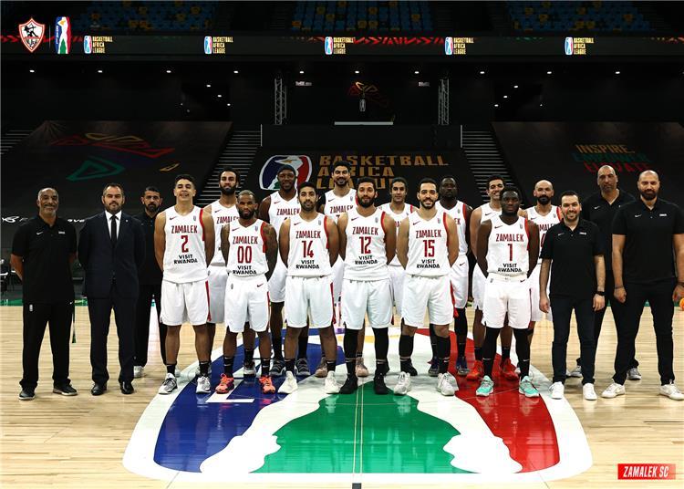 فريق السلة بالزمالك