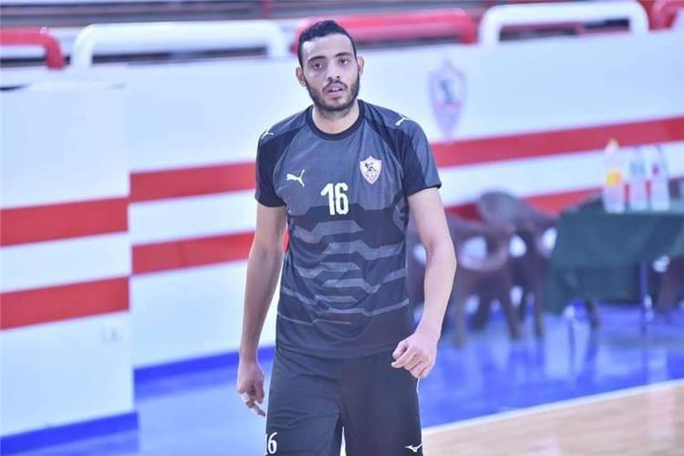 محمد محسن لاعب فريق طائرة الزمالك