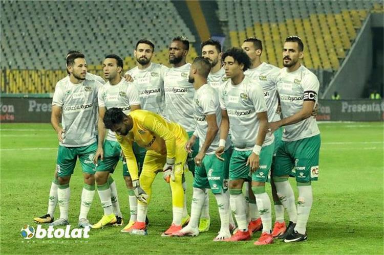 فريق المصري من مباراة الاهلي في الدوري