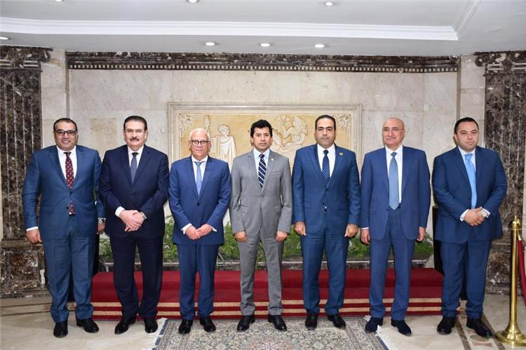 الوزير ورئيس المصري من اجتماع اليوم