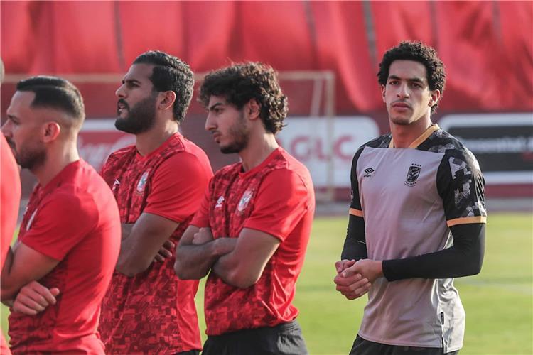 محمد هاني في مران الاهلي