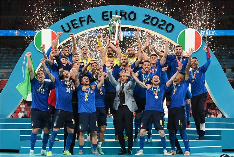 تتويج إيطاليا بـ يورو 2020