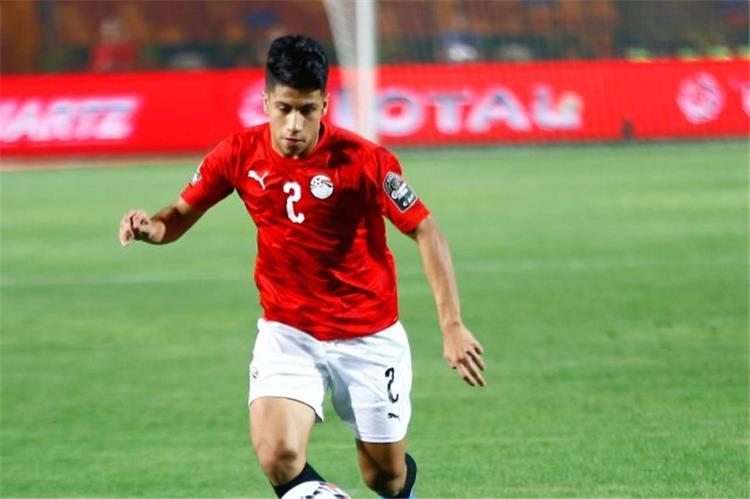 عمار حمدي لاعب منتخب مصر الأولمبي