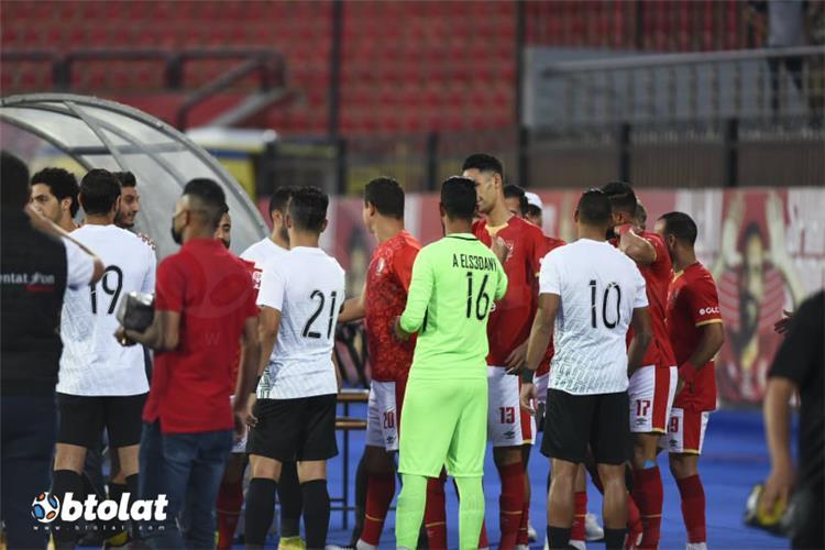 الممر الشرفي قبل مباراة الأهلي