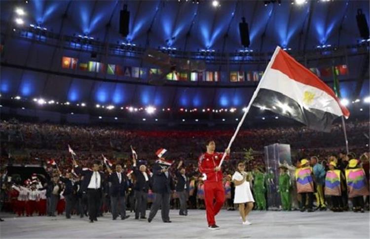 طابور عرض الاولمبياد