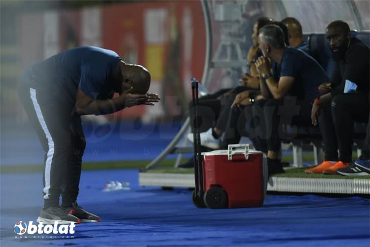 موسيماني في مباراة الأهلي والبنك