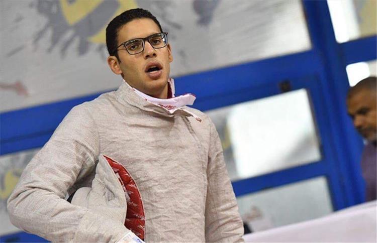 محمد عامر بطل سلاح السيف