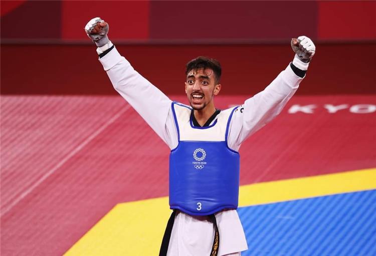 محمد الجندوبي يحصد الميدالية الفضية في لعبة التايكوندو