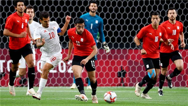 مباراة مصر واسبانيا في أولمبياد طوكيو