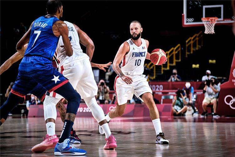 مباراة امريكا وفرنسا كرة سلة في اولمبياد طوكيو