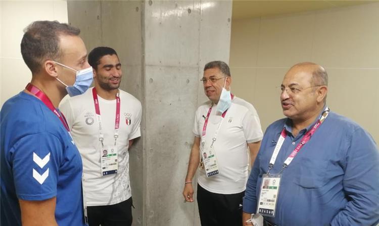 هشام حطب رئيس اللجنة الاولمبية