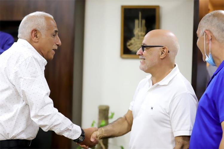 فينجادا مع حسين لبيب في الزمالك