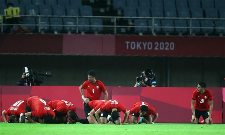 لاعبو منتخب مصر الأولمبي