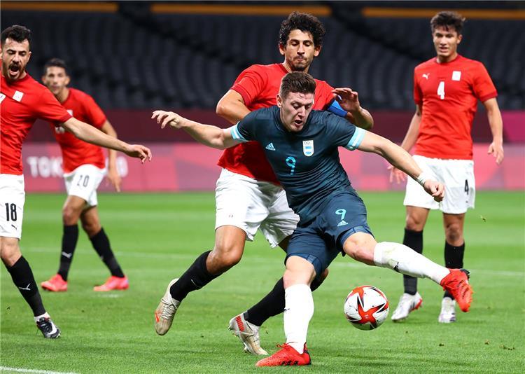 احمد حجازي لاعب منتخب مصر
