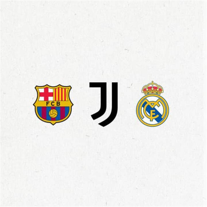 ريال مدريد ويوفنتوس وبرشلونة