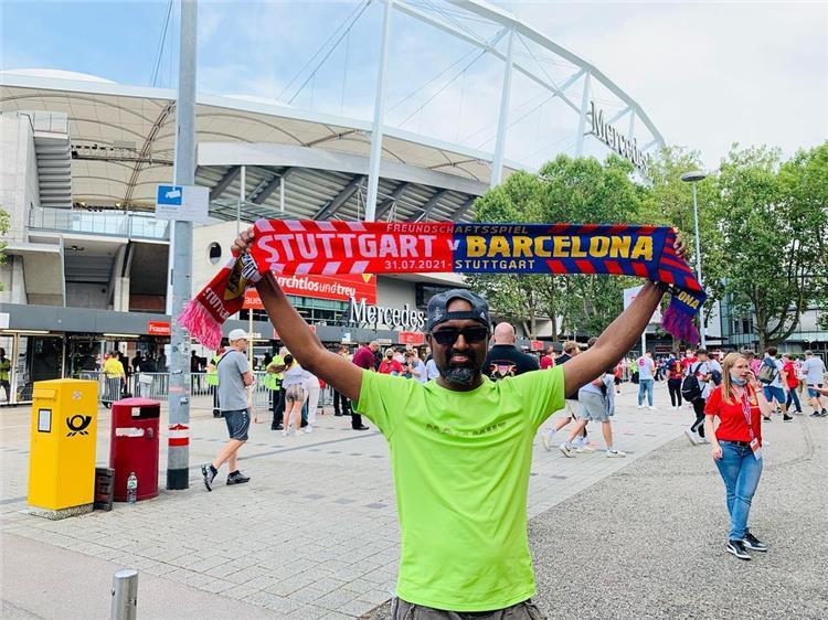 برشلونة وشتوتجارت