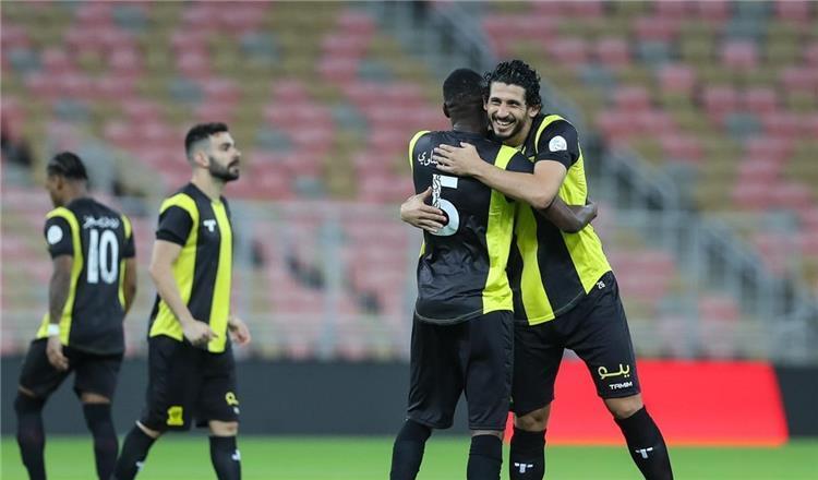 احمد حجازي مع فريقه اتحاد جدة