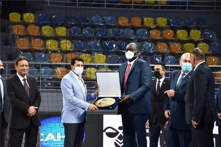 وزير الرياضة في احتفالية الزمالك