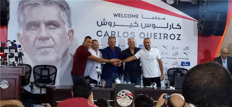 مؤتمر تقديم كيروش مدربا لمصر