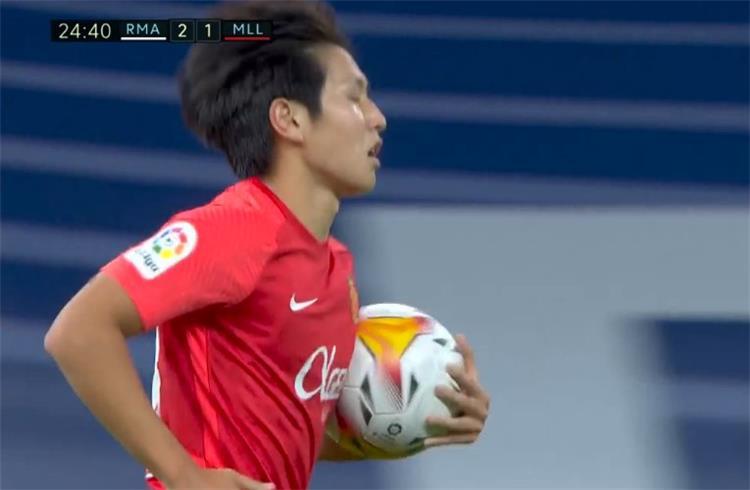 فيديو - ريال مايوركا يسجل الهدف الأول أمام ريال مدريد في الدوري الإسباني