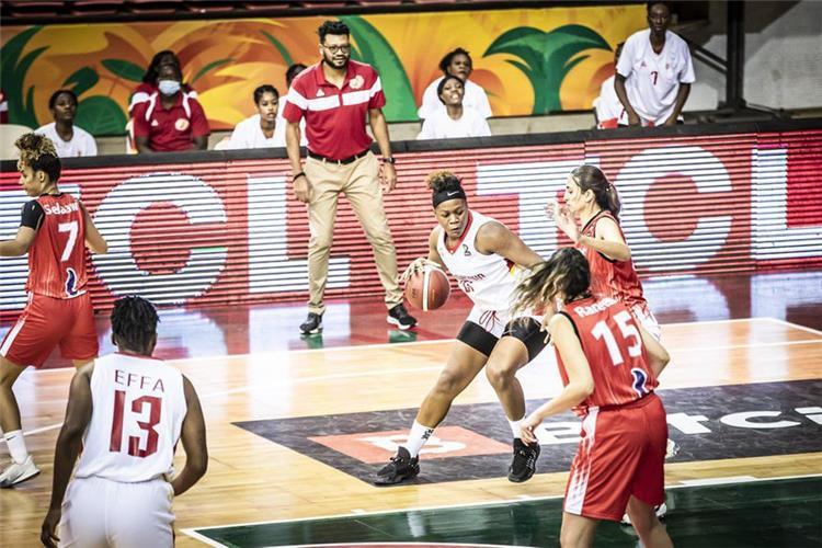 مباراة مصر والكاميرون سلة سيدات