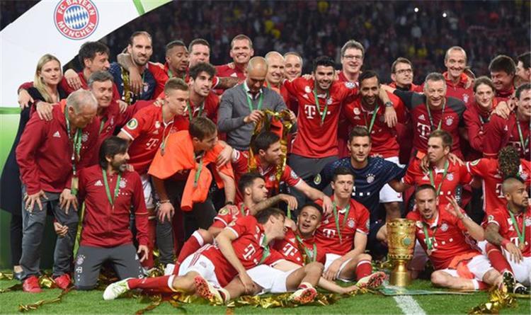 نهائي كأس ألمانيا رسمي ا بايرن ميونخ يتوج بلقبه الثاني هذا الموسم على حساب بوروسيا دورتموند