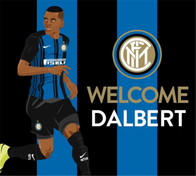رسمي ا إنترميلانو يضم دالبرت لخمس سنوات