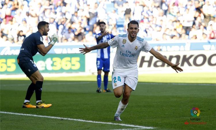 بالفيديو.. سيابيوس يعيد انتصارات ريال مدريد بثنائية في آلافيس