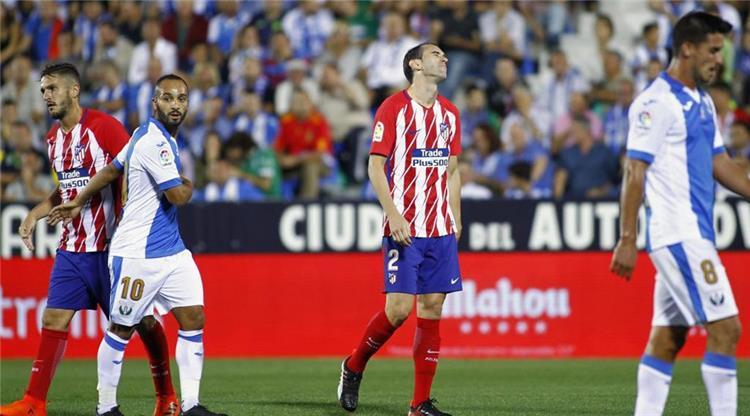 أتلتيكو مدريد يسقط في فخ التعادل أمام ليجانيس