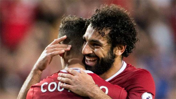 كوتينيو يشيد بمحمد صلاح: لاعب عظيم