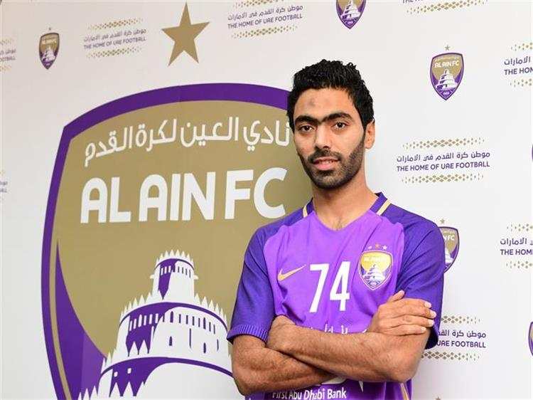 حسين الشحات أساسي ا مع العين أمام الظفرة في كأس رئيس الإمارات