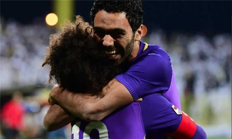 حسين الشحات مع فريقه العين الاماراتي