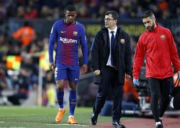 عاجل برشلونة يصدر بيان ا رسمي ا بشأن لاعبه