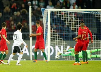 حقائق وأرقام من مباراة مصر والبرتغال