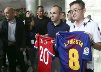 إنييستا يستقر على وجهته المقبلة بالصين.. والإعلان الرسمي عقب نهائي الكأس
