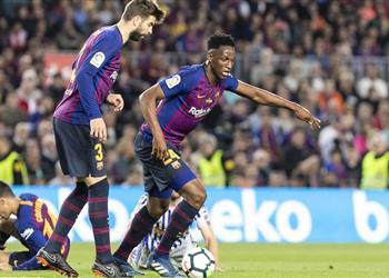 ياري مينا يكشف موقفه من الرحيل عن برشلونة
