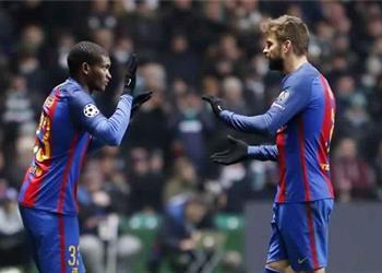 صراع إنجليزي على ضم مدافع برشلونة