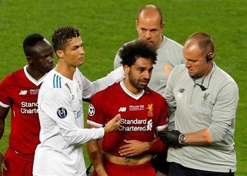 تريزيجيه يبعث رسالة رائعة لمحمد صلاح بعد الإصابة