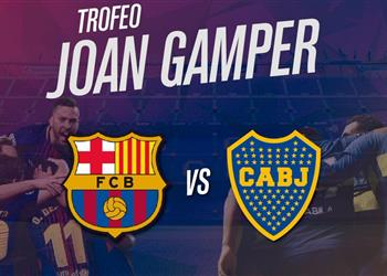 القنوات الناقلة وموعد مباراة كأس خوان جامبر بين برشلونة وبوكا جونيورز