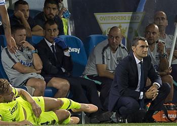 خمسة أسباب وراء سقوط برشلونة أمام ليجانيس