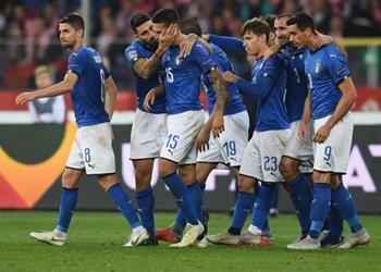 بيراجي يُهدي هدفه القاتل مع إيطاليا للراحل أستوري