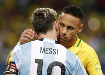 نيمار: من العار غياب ميسي عن مباراة الأرجنتين والبرازيل
