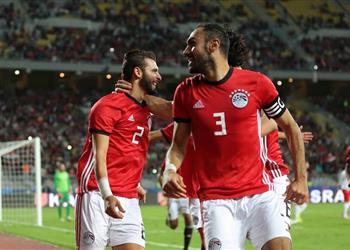 تعليق باهر المحمدي على هدفه الأول بقميص منتخب مصر