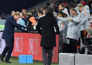 مدرب هولندا: أظهرنا شخصيتنا أمام ألمانيا والتأهل كان حلمًا بالنسبة لنا