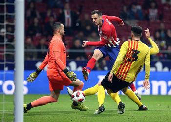 أتلتيكو مدريد يمزق شباك سانت اندرو برباعية ويتأهل لدور الـ16 بكأس الملك
