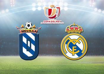 موعد والقناة الناقلة لمباراة ريال مدريد وميليا في كأس ملك إسبانيا اليوم