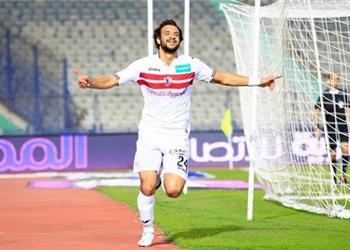 محمود علاء يغيب عن مباراة الزمالك المقبلة