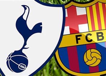 التشكيل الرسمي لمباراة برشلونة وتوتنهام بدوري أبطال أوروبا